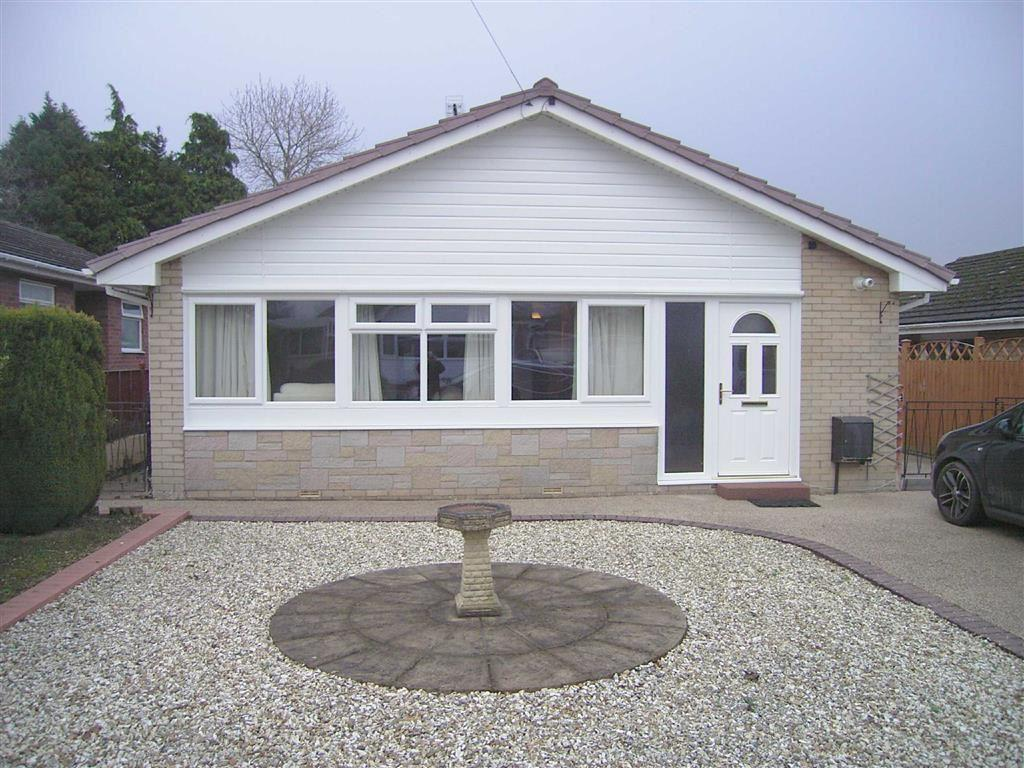 3 Bedrooms Detached Bungalow for sale in 4, Mineah Drive, Guilsfield, Welshpool, Powys, SY21
