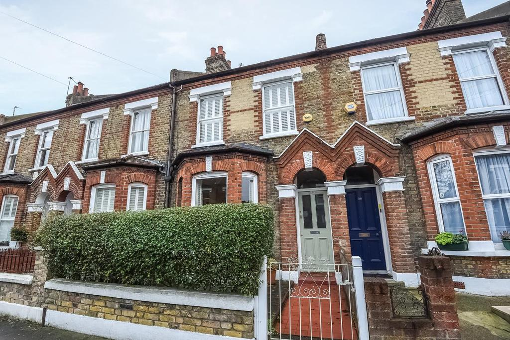 3 Bedrooms Terraced House for sale in Franche Court Road, Earlsfield, SW17
