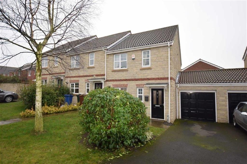3 Bedrooms End Of Terrace House for sale in Trenchard Close, Grimethorpe, Barnsley, S72