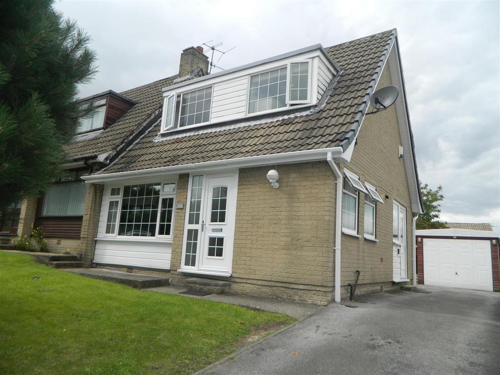 2 Bedrooms Semi Detached House for sale in Hollingwood Lane, Horton Bank Top, Bradford, BD7 4AY