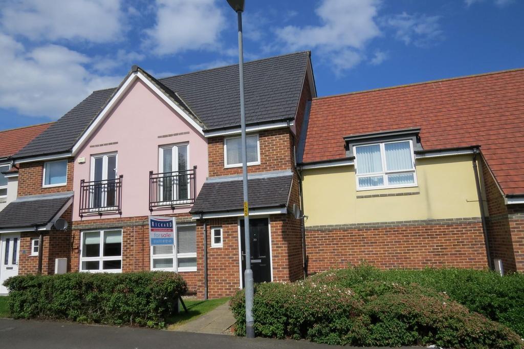 3 Bedrooms Terraced House for sale in Hindmarsh Drive, Barley Rise, Ashington