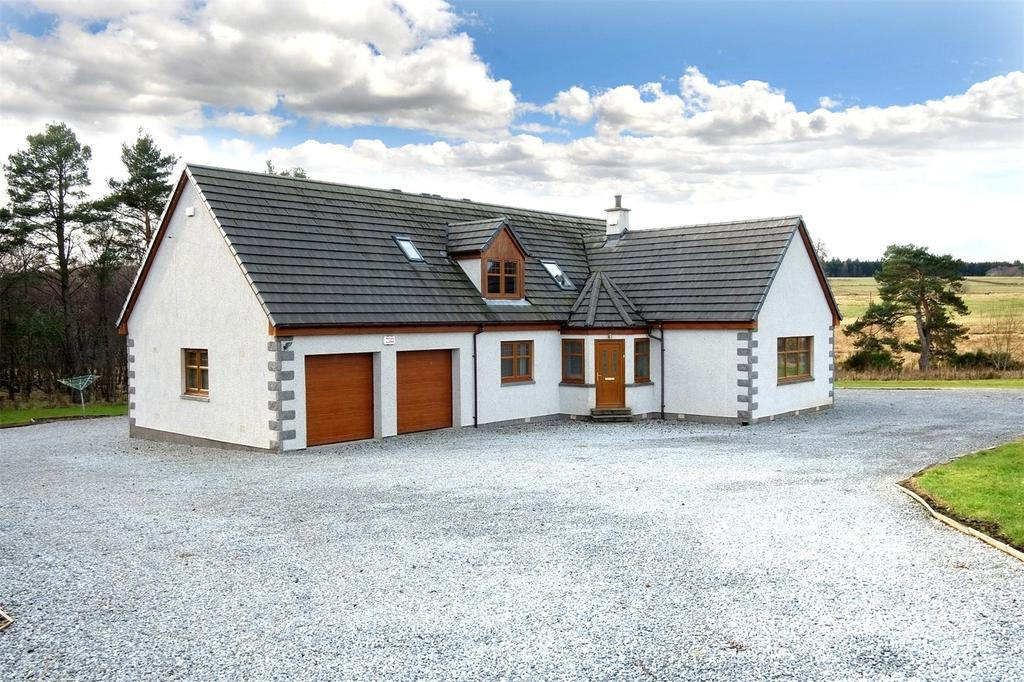 4 Bedrooms Detached House for sale in Greenacres, Wester Elchies, Craigellachie, Aberlour, Moray, AB38
