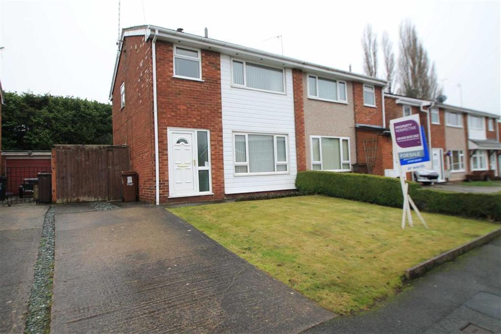 3 Bedrooms Semi Detached House for sale in Llwyn Eglwys, Hope, Wrexham