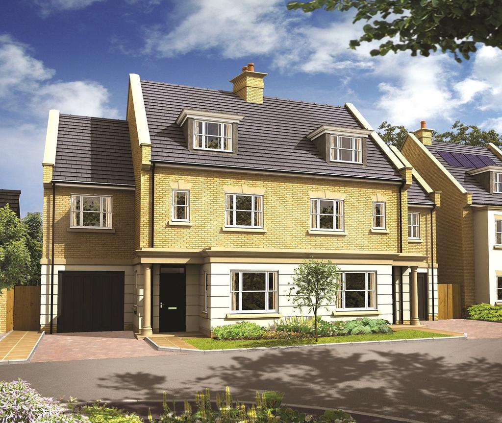 4 Bedrooms Detached House for sale in Park Avenue, The Avenue, TW16