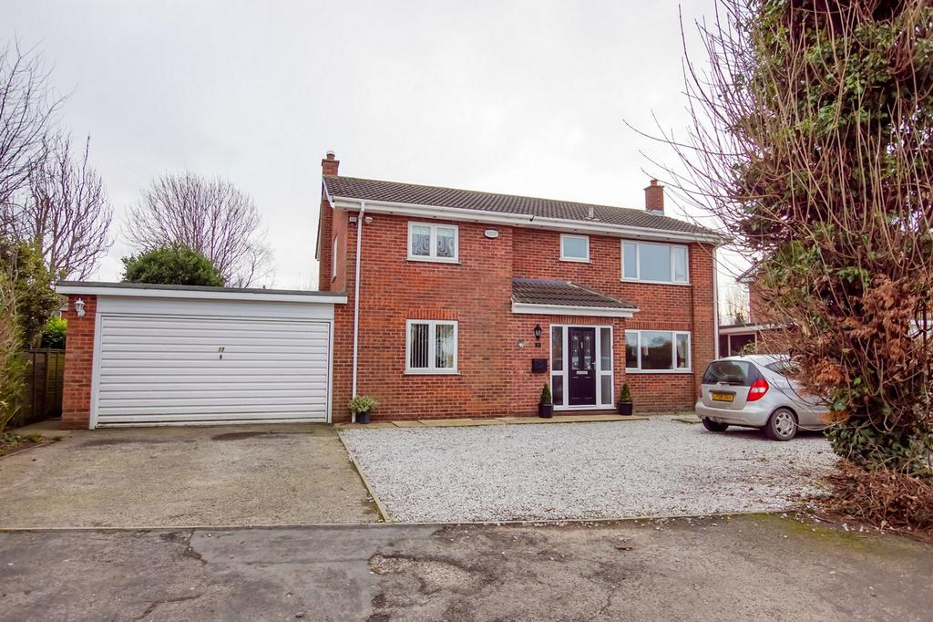 4 Bedrooms Detached House for sale in Bar Lane, Hambleton, SELBY, North Yorkshire