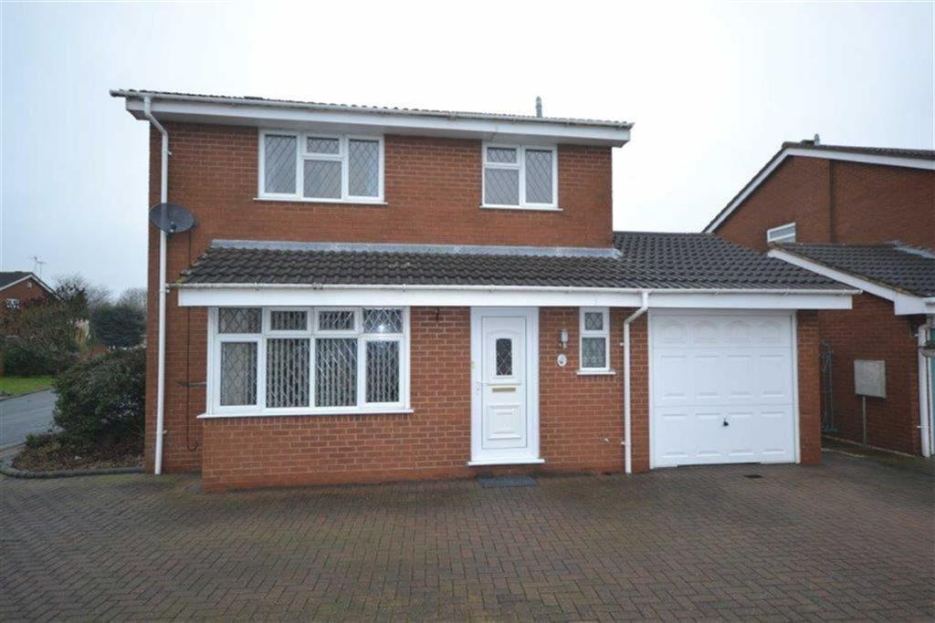 4 Bedrooms Detached House for sale in Turnberry Drive, Whitestone, Nuneaton