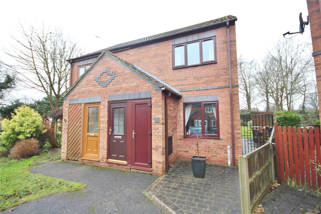 2 Bedrooms Semi Detached House for sale in Burghley Square, Heighington, LN4