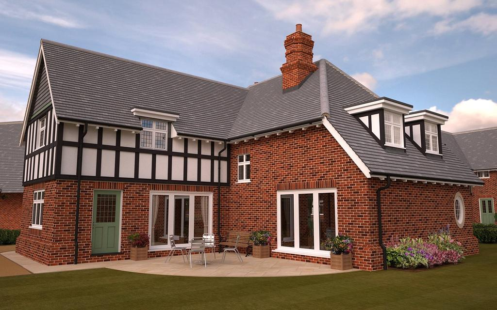 4 Bedrooms Detached House for sale in Stoneham, Petwood Oaks, Monument Road, Woodhall Spa, LN10