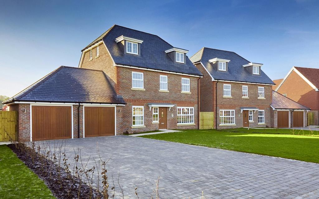 5 Bedrooms Detached House for sale in Abingworth Meadows, Storrington Road, Thakeham, Pulborough, West Sussex, RH20