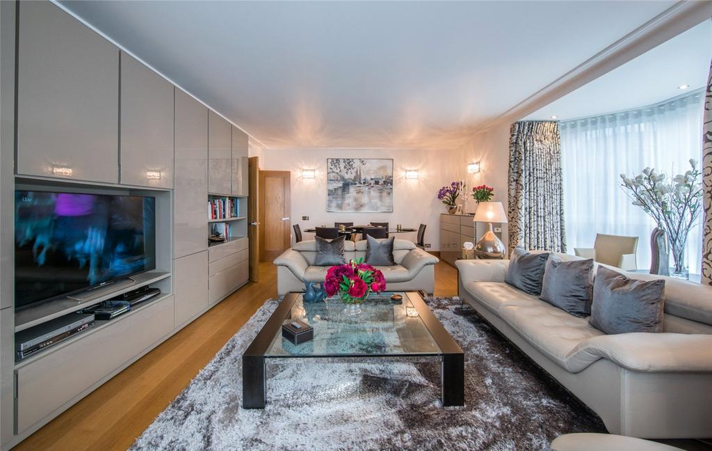 3 Bedrooms Flat for sale in 15 Balmoral Court, Queens Terrace, St John's Wood, London, NW8