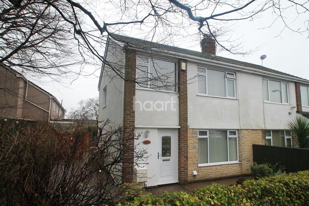 3 Bedrooms Semi Detached House for sale in Berkley Road, Bassaleg, Newport,