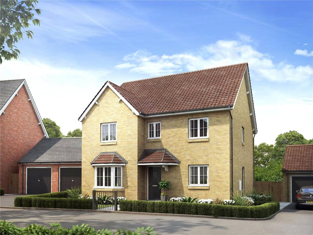 4 Bedrooms House for sale in Larkfleet Rise, Hyde Lane, Creech St Michael, Somerset, TA3