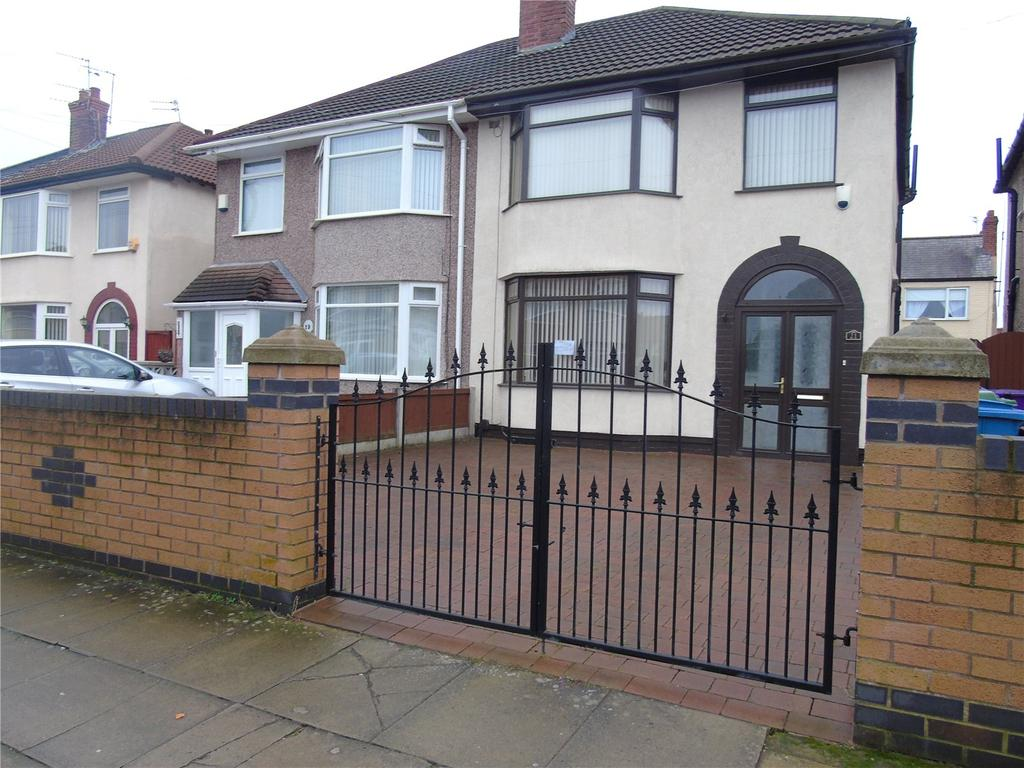 3 Bedrooms Semi Detached House for sale in Wensley Road, Orrell Park, Liverpool, L9