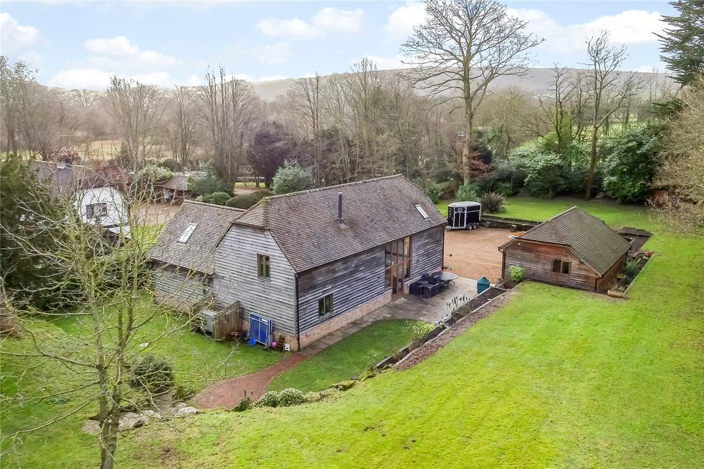 4 Bedrooms Barn Conversion Character Property for sale in Washington Road, Storrington, West Sussex