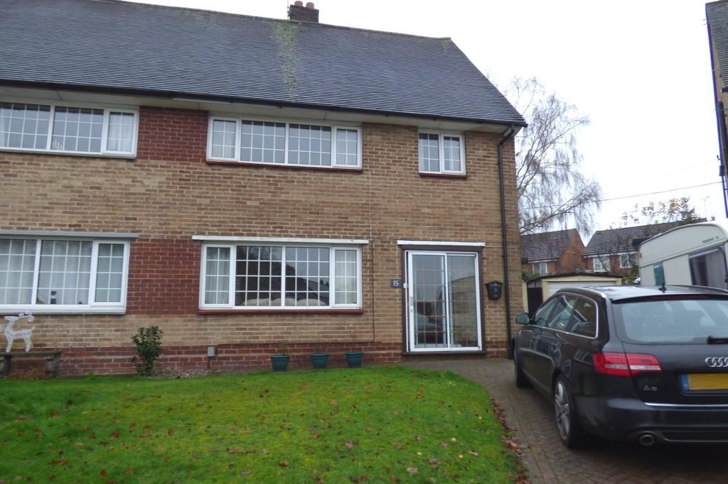 3 Bedrooms Semi Detached House for sale in Springfield Drive, Stafford