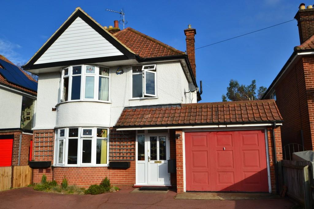 3 Bedrooms Detached House for sale in Colchester Road, Ipswich, Suffolk