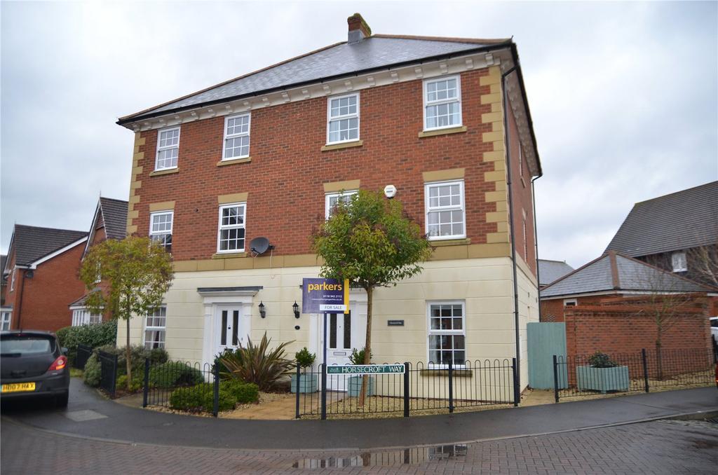 4 Bedrooms Semi Detached House for sale in Horsecroft Way, Tilehurst, Reading, Berkshire, RG31