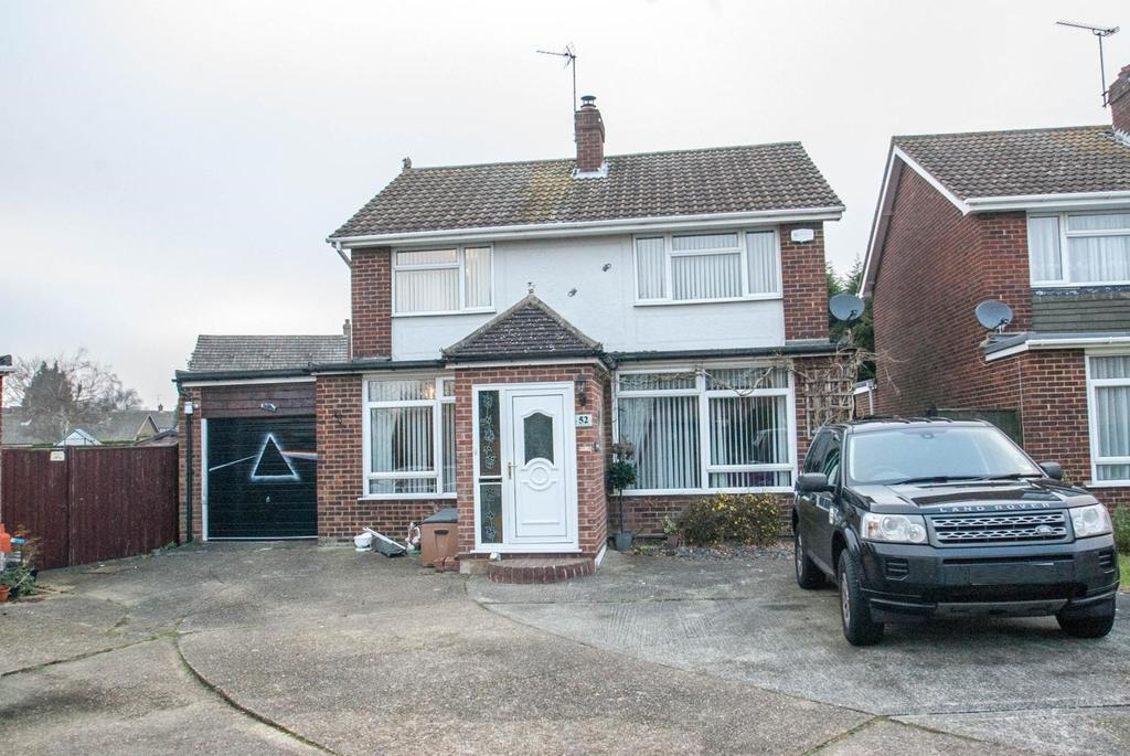4 Bedrooms Detached House for sale in Great Fox Meadow, Kelvedon Hatch, Brentwood, Essex, CM15
