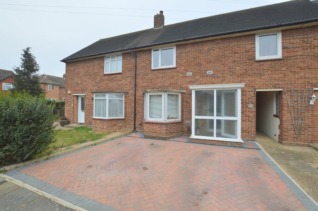 3 Bedrooms Terraced House for sale in Whipperley Way, Farley Hill, Luton, LU1 5LG
