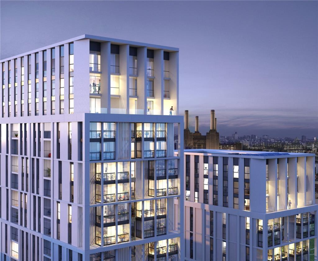 1 Bedroom Flat for sale in Battersea Exchange, Patcham Terrace, London, SW8