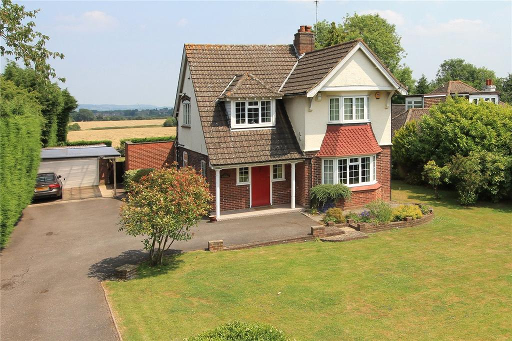 4 Bedrooms Detached House for sale in Chevening Road, Chipstead, Sevenoaks, Kent, TN13