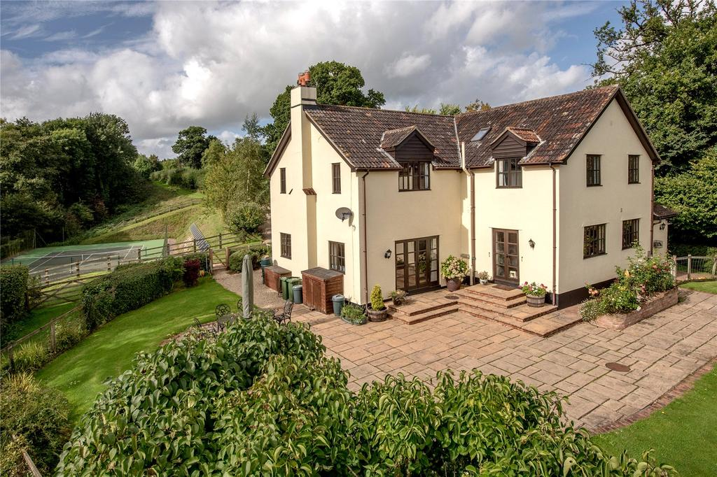 5 Bedrooms Detached House for sale in Kittisford, Wellington, Somerset, TA21
