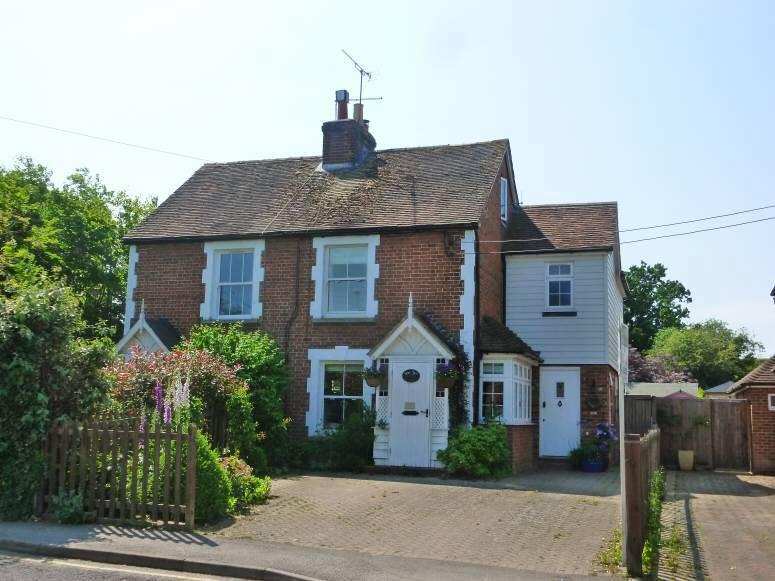 4 Bedrooms Semi Detached House for sale in Myrtle Cottage, Station Road, Staplehurst, Kent, TN12 0PZ
