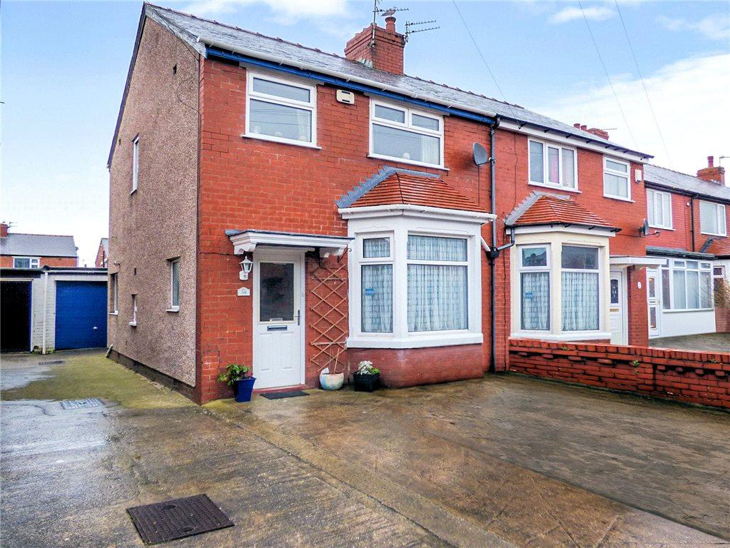 3 Bedrooms Semi Detached House for sale in Sawley Avenue, South Shore, Blackpool