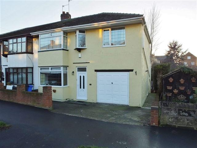 4 Bedrooms Semi Detached House for sale in Hall Road , Handsworth, Sheffield , S13 9AL