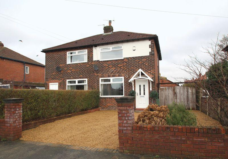 2 Bedrooms Semi Detached House for sale in Highfield Park Road, Bredbury