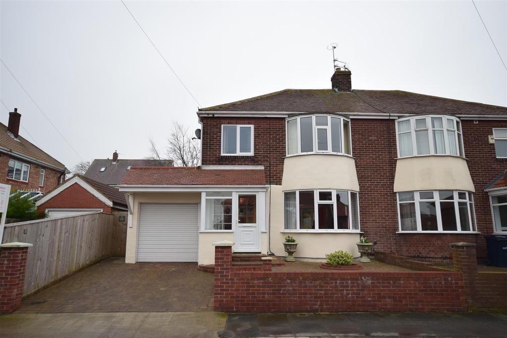 3 Bedrooms Semi Detached House for sale in Glenesk Road, Sunderland
