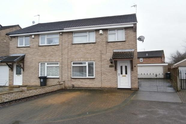 3 Bedrooms Semi Detached House for sale in Faldo Close, Rushey Mead, Leicester, LE4