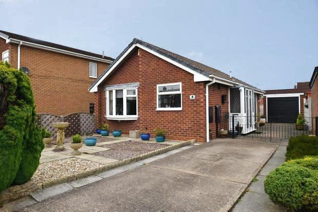3 Bedrooms Detached Bungalow for sale in Argyle Close, Warsop, Mansfield, NG20