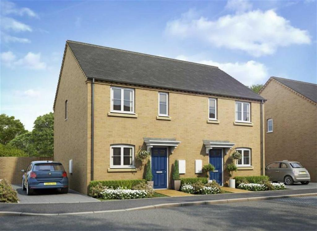 3 Bedrooms Semi Detached House for sale in Spire View, Holbeach