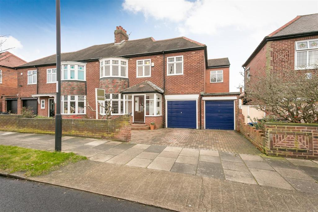 5 Bedrooms Semi Detached House for sale in Wingrove Road North, Fenham, Newcastle upon Tyne