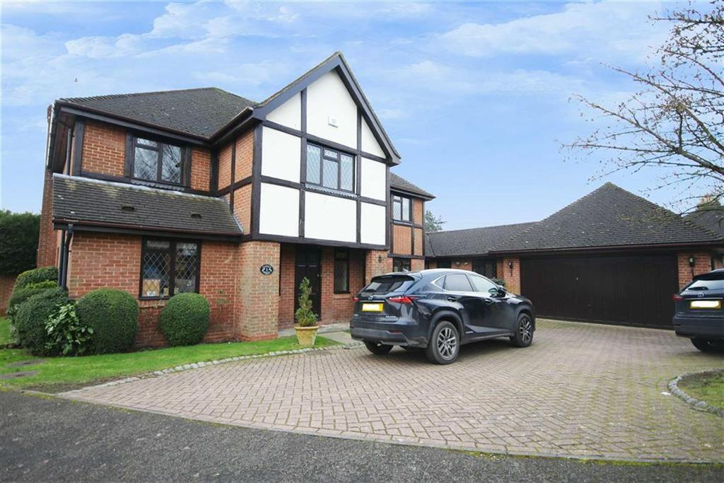 5 Bedrooms Detached House for sale in Garden Close, Arkley, Hertfordshire
