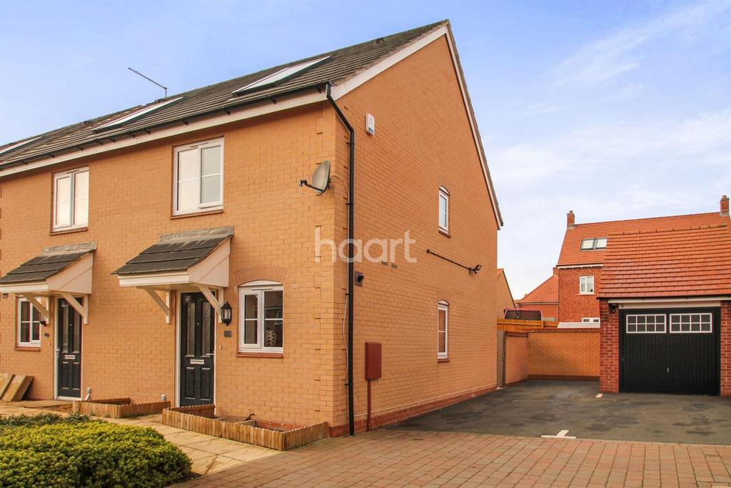 2 Bedrooms Semi Detached House for sale in Maxwell Crescent, Duston, Northampton