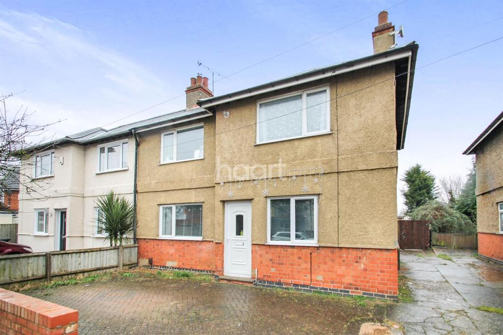 3 Bedrooms Semi Detached House for sale in Pleydell Road, Far Cotton, Northampton
