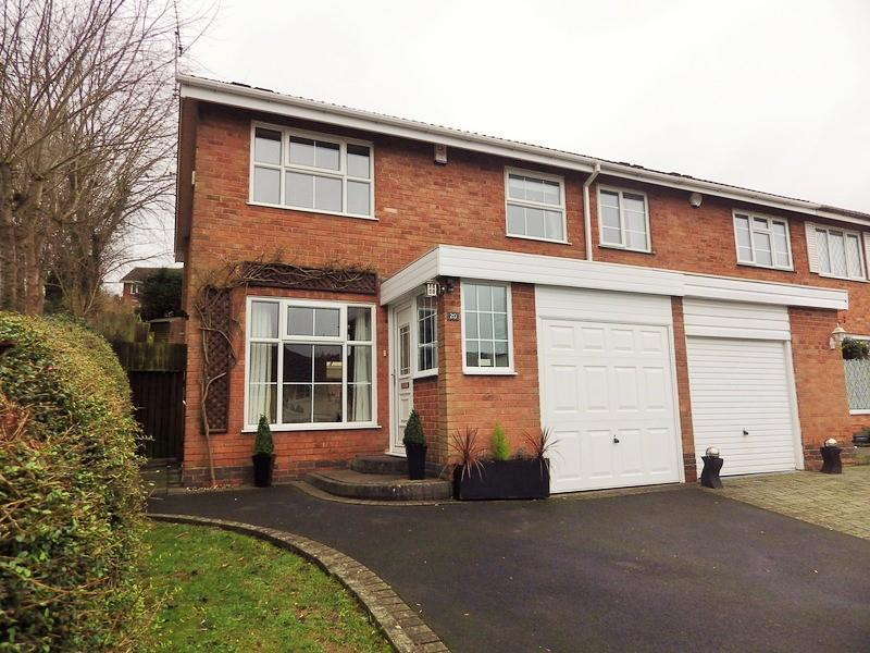 3 Bedrooms End Of Terrace House for sale in Blackford Close, Halesowen