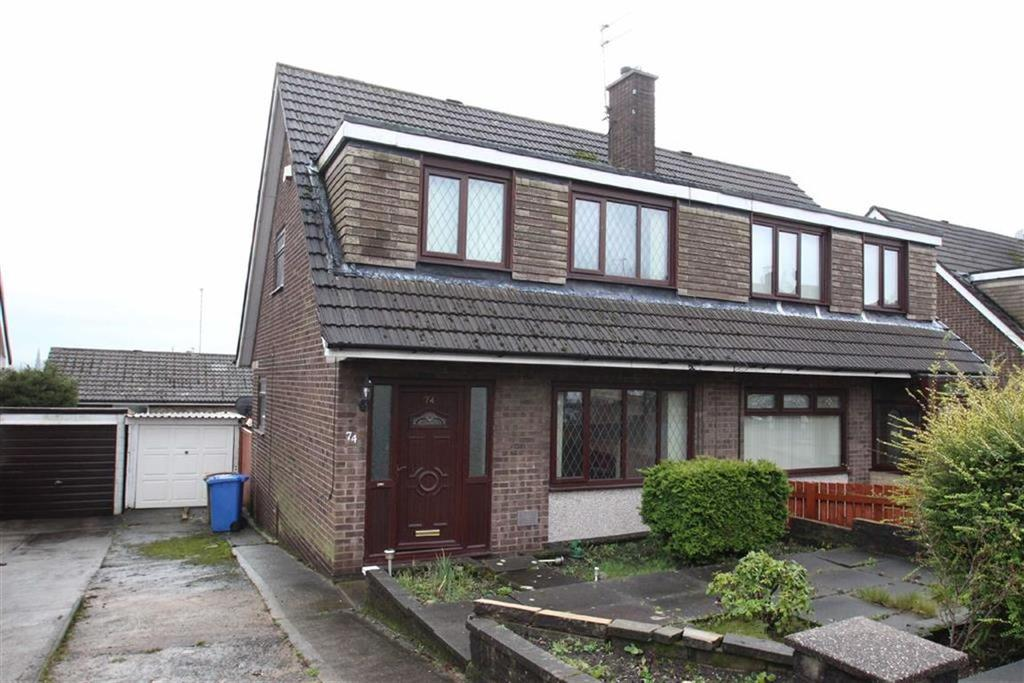 3 Bedrooms Semi Detached House for sale in 74, Higher Lomax Lane, Heywood, Heywood, OL10