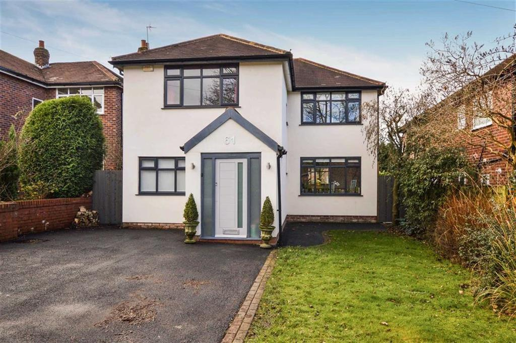 4 Bedrooms Detached House for sale in Carlton Road, Hale, Cheshire, WA15