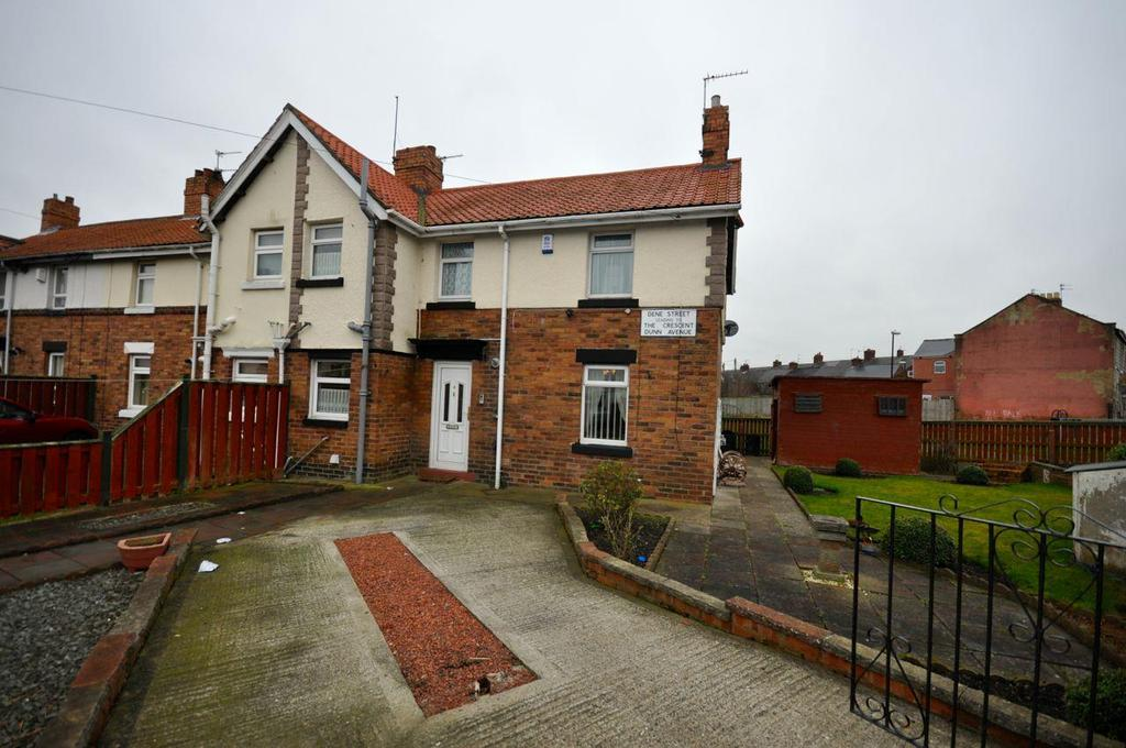 2 Bedrooms Semi Detached House for sale in Dene Street, New Silksworth, Sunderland