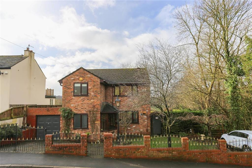 3 Bedrooms Detached House for sale in Compstall Road, Marple Bridge, Cheshire