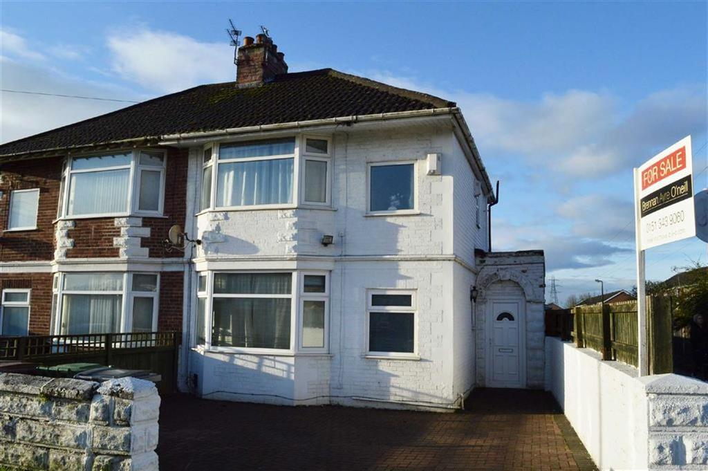 3 Bedrooms Semi Detached House for sale in Bridle Road, CH62