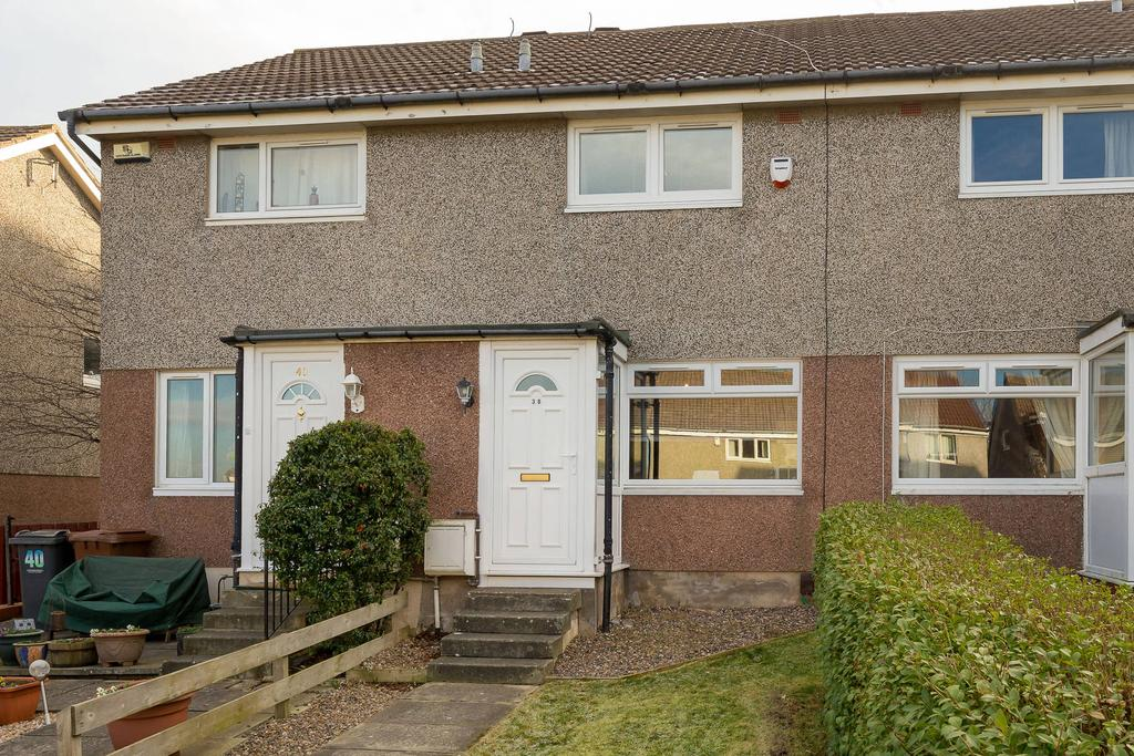 2 Bedrooms Terraced House for sale in 38 Baberton Mains Dell, Baberton, EH14 3DQ