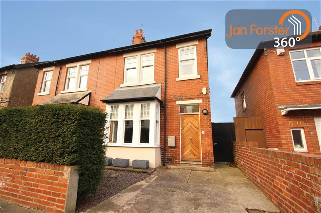 3 Bedrooms Semi Detached House for sale in Elmfield Gardens, Newcastle Upon Tyne, NE3