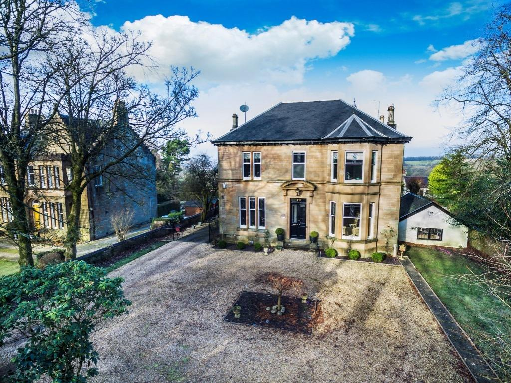 4 Bedrooms Detached House for sale in Benvue, 19 Carmunnock Road, Busby, G76 8SZ