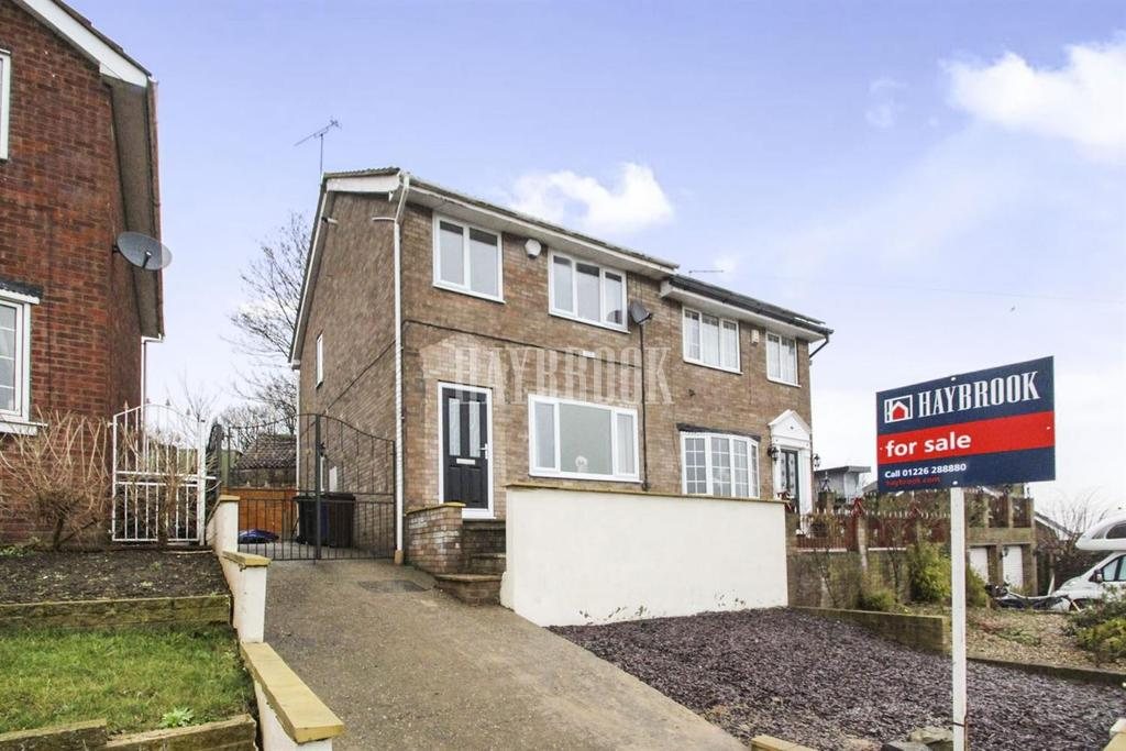3 Bedrooms Semi Detached House for sale in Swaithe View, Worsbrough