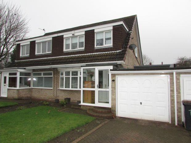 3 Bedrooms Semi Detached House for sale in LUMLEY CLOSE, SPENNYMOOR, SPENNYMOOR DISTRICT