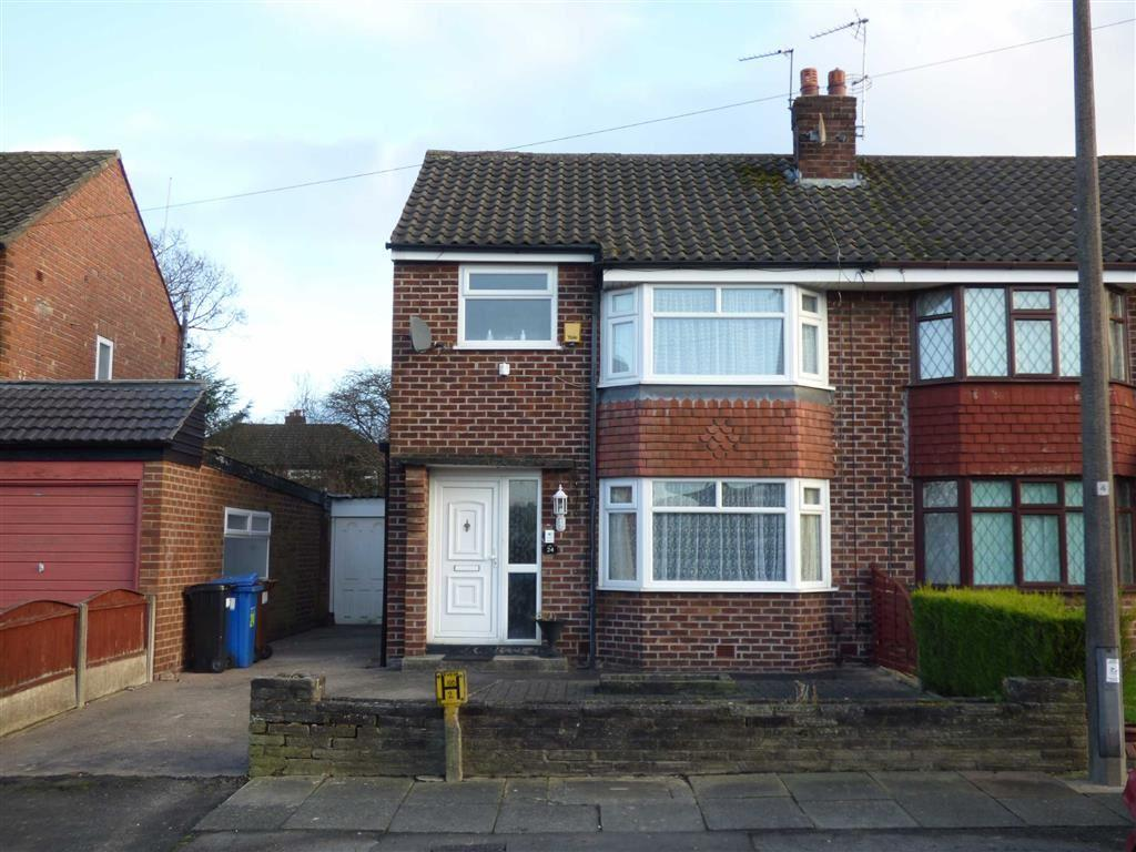3 Bedrooms Semi Detached House for sale in Rushfield Road, Cheadle Hulme, Cheshire